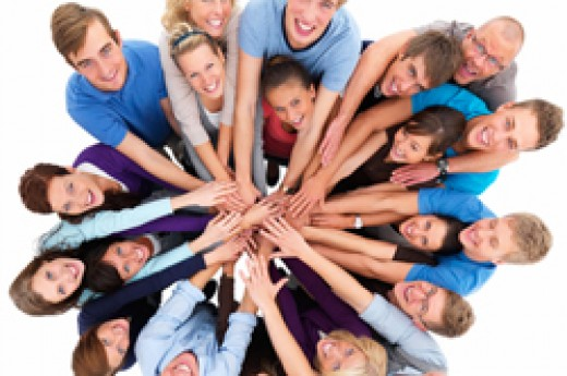 Unity - Group of people Working together